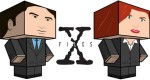 Mulder et Scully de X-Files (x 2)