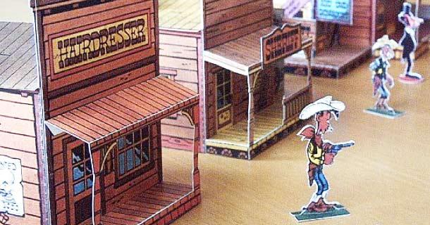 Blog_Paper_Toy_papercraft_Lucky_Luke_City