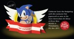 Papertoy SONIC by Desktop Gremlins