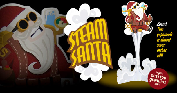 Blog_Paper_Toy_papertoy_Steam_Santa_Desktop_Gremlins