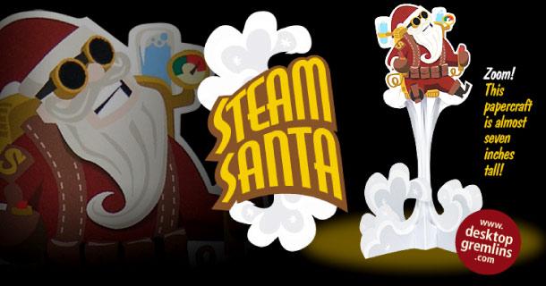 Blog_Paper_Toy_papertoy_Steam_Santa_Desktop_Gremlins