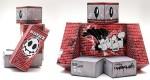 Papertoy 'Wall Bot' de Kekli