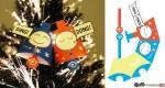 Clochettes de Noël en papier par Zerolabor
