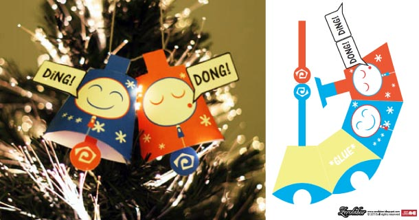 Blog_Paper_Toy_papertoy_Xmas_Bells_Zerolabor