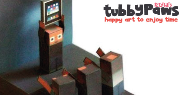 Blog_Paper_Toy_papertoy_iPapercraft_Tubbypaws