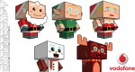 The Christmas Clones by Cubeecraft (x 5)
