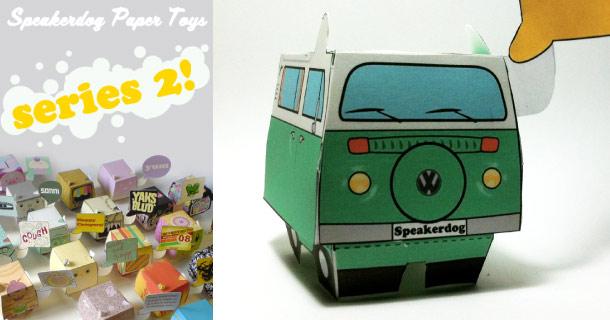Blog_Paper_Toy_papertoys_Speakerdog_Serie_2_Ben_The_Illustrator