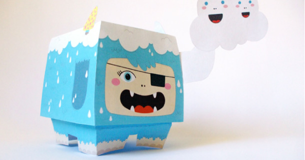 Blog_Paper_Toy_papertoys_Speakerdog_Serie_3_Ben_The_Illustrator