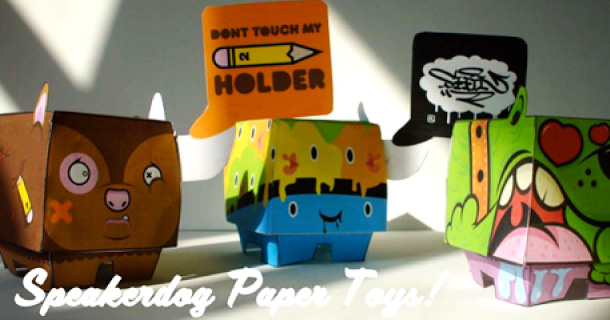 Blog_Paper_Toy_papertoys_Speakerdog_Serie_4_Ben_The_Illustrator