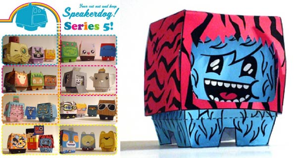 Blog_Paper_Toy_papertoys_Speakerdog_Serie_5_Ben_The_Illustrator