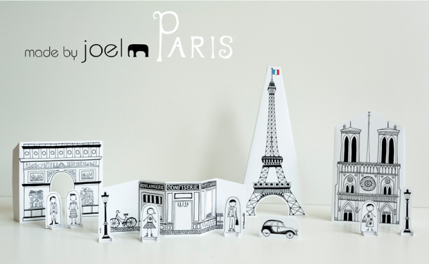 Blog Paper Toy papercraft Paper City Paris Joel pic1 Paper City Paris   Made by Joel