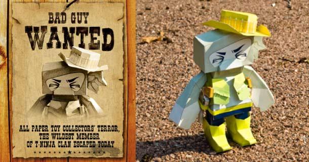 Blog_Paper_Toy_papertoy_Cowboy_T_Ninja