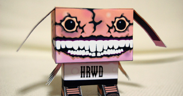 Blog_Paper_Toy_papertoy_Gubi_Gubi_Newflesh_Horrorwood