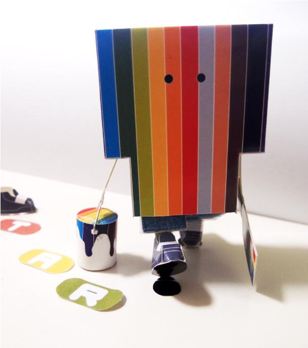 Blog Paper Toy papertoy Street Art Hadz pic1 Papertoy Street Art de Hadz