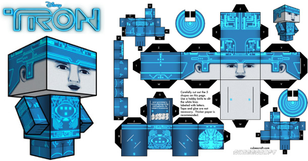 Blog_Paper_Toy_papertoy_Tron_Cubeecraft