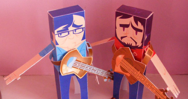 Blog_Paper_Toy_papertoys_Flight_Conchords_Morgan_Gleave