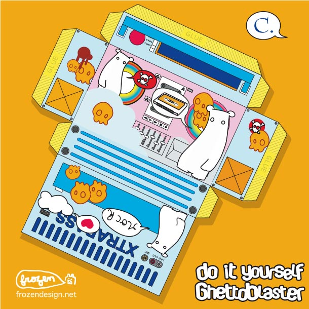 Blog Paper Toy papertoys Ghetto Paper template 06 preview Papertoys 'GHETTO PAPER'   Batch #1