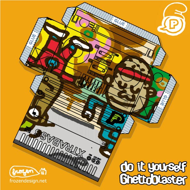 Blog Paper Toy papertoys Ghetto Paper template 18 preview Papertoys 'GHETTO PAPER' – Batch #2
