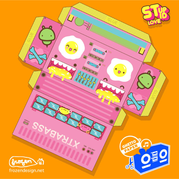 Blog Paper Toy papertoys Ghetto Paper template 22 preview Papertoys 'GHETTO PAPER' – Batch #3
