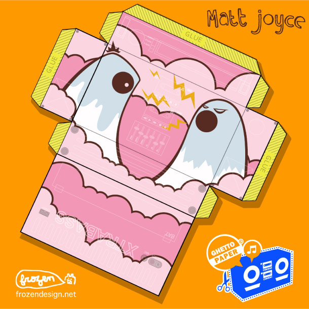 Blog Paper Toy papertoys Ghetto Paper template 48 preview Papertoys 'GHETTO PAPER'   Batch #5