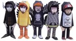 Papertoys Hoody (Serie 3) by dmc (x 5)