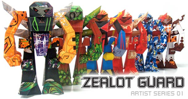 Blog_Paper_Toy_papertoys_Zealot_Guard_Oh_Sheet