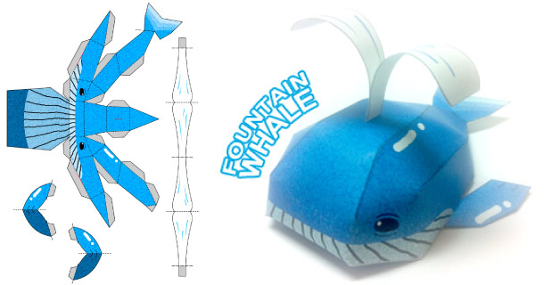 Blog_Paper_Toy_papertoy_Fountain_Whale_Beastory