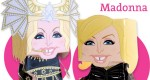 Papertoys Madonna de Vic Matos (x 2)