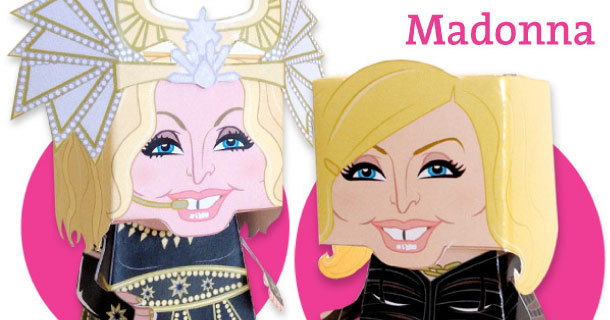 Blog_Paper_Toy_papertoys_Madonna_Vic_Matos