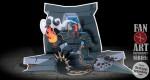 Papercraft Zelda 'Ball & Chain Trooper'