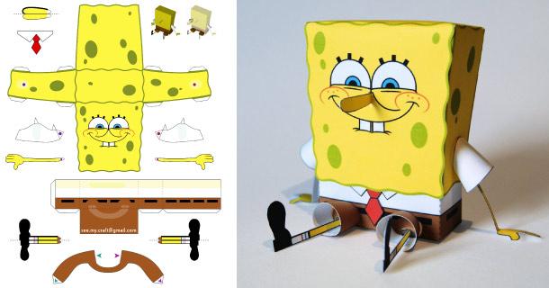 Blog_Paper_Toy_papertoy_Spongebob_Philipp_S