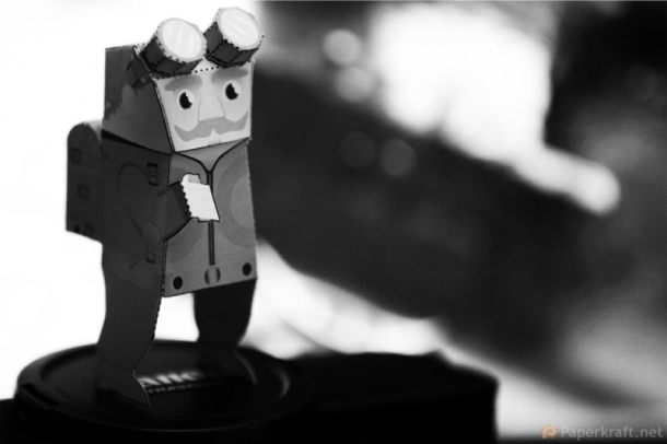 Blog Paper Toy papertoy Steam Rider pic1 Papertoy Steam Rider dAlexander Gwynne