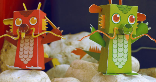 Blog_Paper_Toy_papertoys_Dragons_Chinois_Lea_Brunot