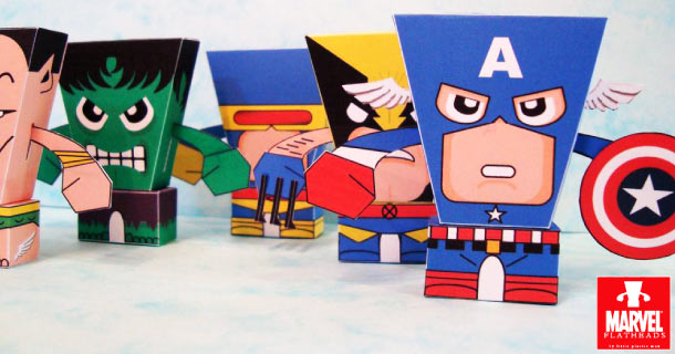 Blog_Paper_Toy_papertoys_FlatHeads_Heroes_Little_Plastic_Man