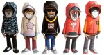 Papertoys Hoody (Serie 2) by dmc (x 5)