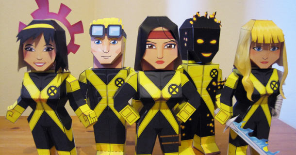 Blog_Paper_Toy_papertoys_New_Mutants_My_Paper_Heroes