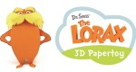 Papertoy Le Lorax (2012)