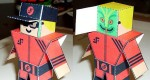My V Friend de Paper Foldables