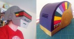Daft Punk Helmets papercraft (x 2)