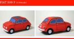 Papercrafts Fiat 500 (x 6)