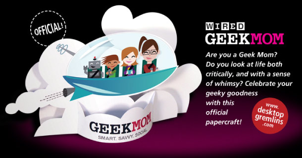 Blog_Paper_Toy_papertoy_GEEKMOM_Desktop_Gremlins