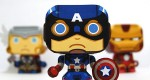 Captain America Mini Papertoy
