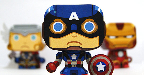 Blog_Paper_Toy_papertoy_Mini_Captain_America_Gus_Santome