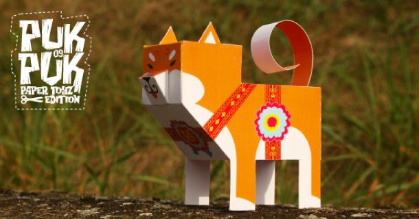 Blog_Paper_Toy_papertoy_Shiba_Inu_Puk_Puk