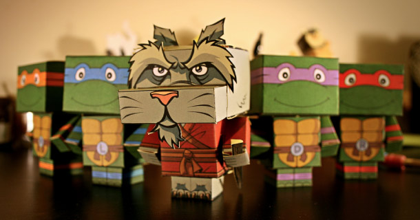 Blog_Paper_Toy_papertoys_Cubeecraft_Tortues_Ninja