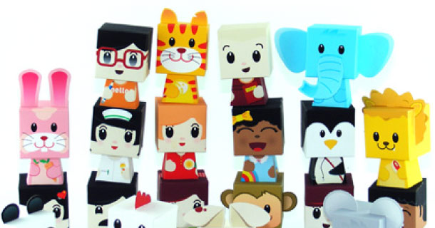 Blog_Paper_Toy_papertoys_Finger_Puppets_Salazad