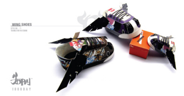 Blog_Paper_Toy_papertoys_Wing_Shoes_1000DAY