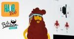 LA BEUBAR papertoys - Hair Bob