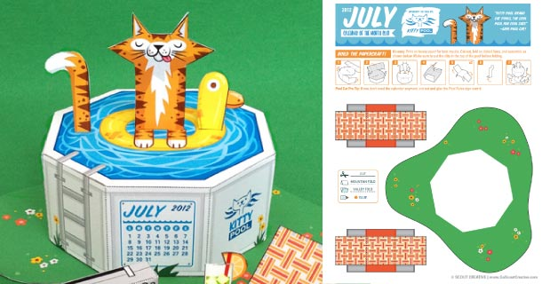 Blog_Paper_Toy_papertoy_Calendrier_Juillet_SCOUT_Creative