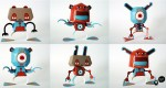 'Gears Monsuta' papertoy by TPF